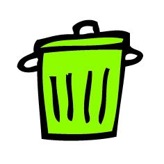 agendastickertje gft-afval