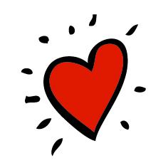 agendastickertje liefde | trouwdag | valentijn